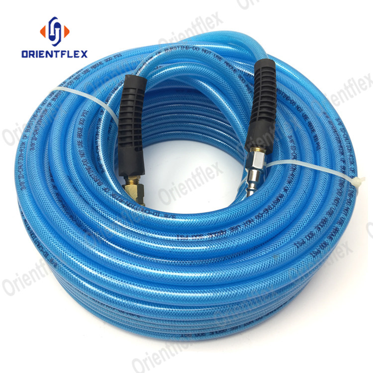 High quality poly reinforced polyurethane tubing for sale