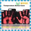 factory in china unique design warm sensor pu leather cell phone case for iPhone 7