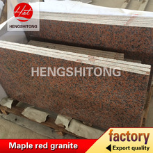 G562 Chinese Stone Slabs Maple Red Granite