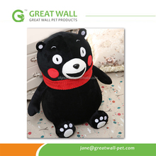 40cm-80cm Cute black bear toy for children