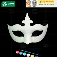 2015 cheap party sexy female mask, paper mache masquerade party mask