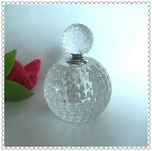 Crystal Glass Golf Perfume Bottle For Sports Souvenir