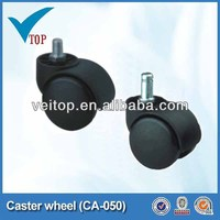 Furniture push cart caster wheels