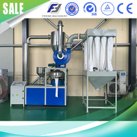 Waste pvc plastic pulverizer mill machine