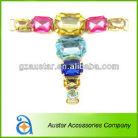Wholesale Crystal Rhinestone Sandal Chain,Shoe Ornament for Summer lady Shoes