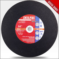 SKILFUL 14 inch metal abrasive cutting disk 3.0mm 70m/s in EN12413 MPA certification