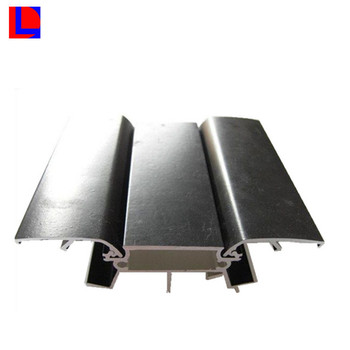 High thermal conductivity black anodized aluminum led lampcover profile