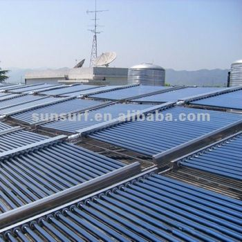SunSurf New Energy SC-E01 50 tubes water heater solar project collector