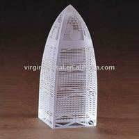 Optic Crystal Golden Dome Building Model Souvenirs VIP Gifts