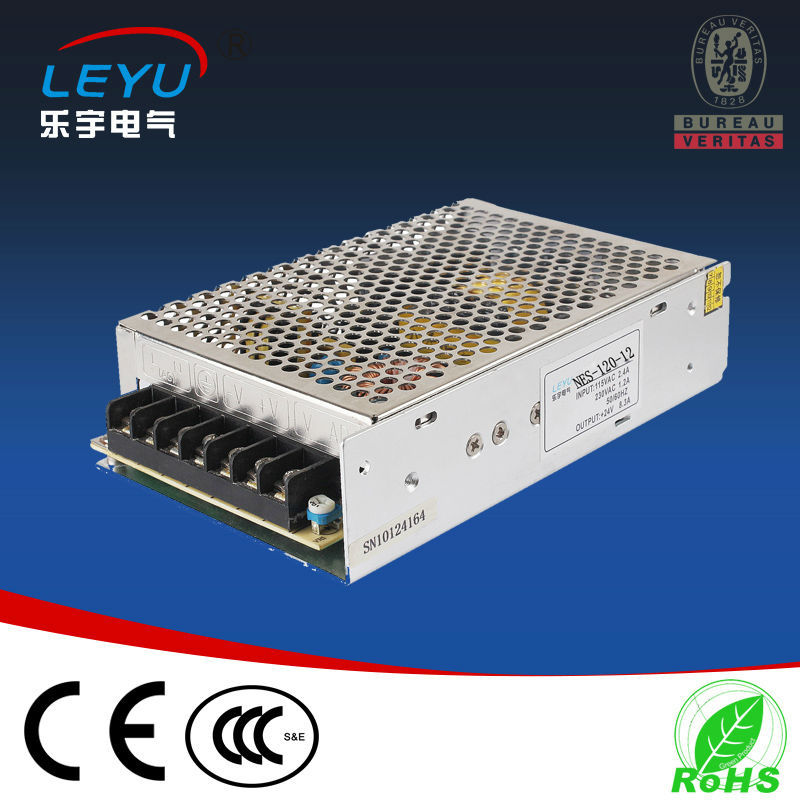 High efficiency 35w single output power supply ac input full range small size led driver