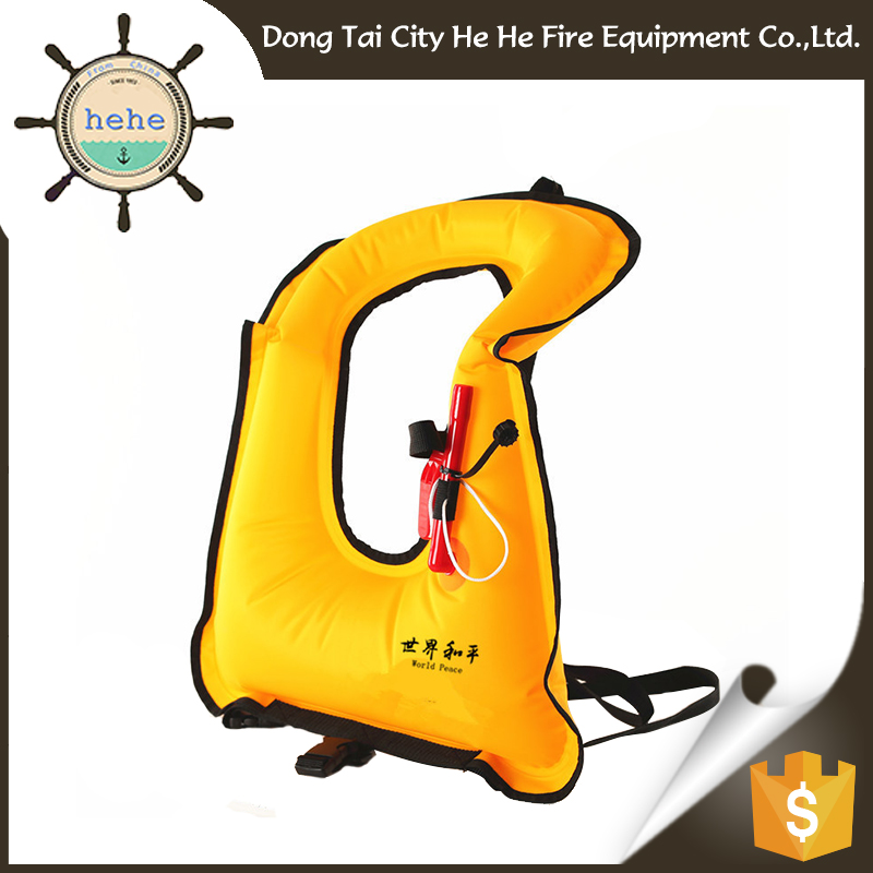 Rescue Equipmentgas Filled Infant Life Jacket Inflatable