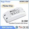 KEGU R06 9-12W Constant Current LED Driver (Flicker-free) with TUV CE SAA