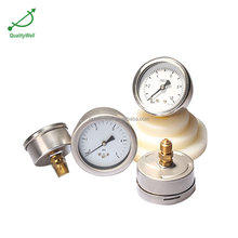 "2.5"" dial low pressure gauge 1/4""BSP 0-5psi"