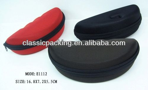 2014 New Style outdoor glasses case, soft reading glasses case,eyewear display case