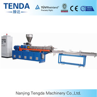 TSH-40 PVC Plastic Processed Twin Screw Compounding Extruder