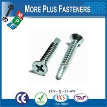 Made in Taiwan High Quality Drive Screw Flat Head Screw Self Drilling Screw