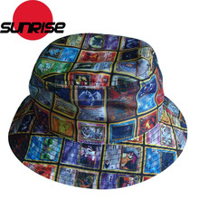 Popular Design Your Own Custom sublimation plain bucket hat wholesale
