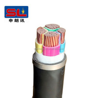 PVC Jacket and Copper Conductor Material power cable