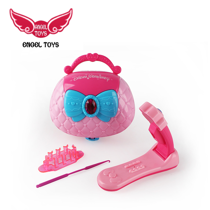 safety material girls fashion diy jewelry beauty set princess toys for playing