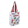 High quality colorful print polyester oxford tote bag for kids