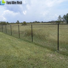 temporary stand-alone chain link fence panel