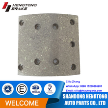 Asbestos-free Good Performance Brake Lining WVA19494 with rivets ,brake drum brake lining 19494 for MAN/Renault/Steyr truck