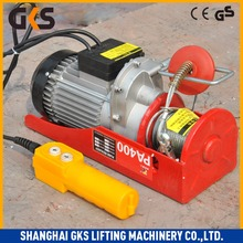 low price 0.5ton mini hanging electric cable hoist&small lifting crane,100%copper motor