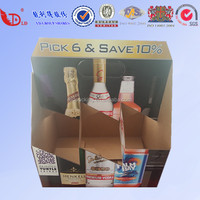 Cardboard corrugated paper wine boxes for shipping