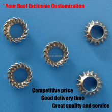 stainless steel external tooth taper washer