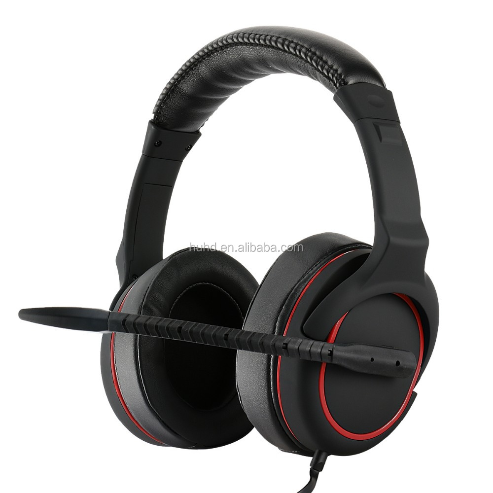 2016 new wired gaming headset for PS4/Xbox one/PS3/Xbox 360/PC gaming stereo headphone with detachable cable & controller box