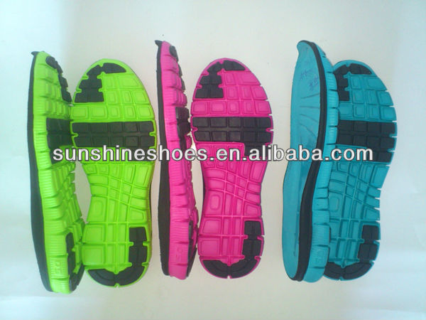 various design phylon outsole for shoes making.