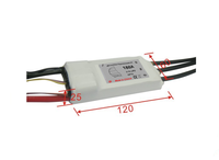 Electric regulator 7S 180A ESC for rc boat