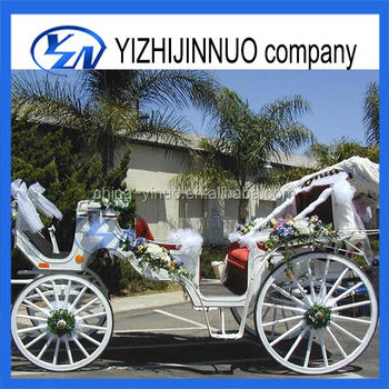 Yizhinuo Wedding Victoria sightseeing horse drawn carriage/wagon for sale