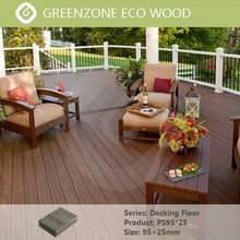 A new flame retardant waterproof natural relaxed balcony floor covering wpc panel