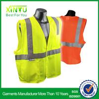 Workwear Clothing Construction Safety 3m Reflective Jacket Hi Vis Surveyor Vest