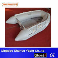 Small PVC Inflatable Fishing Boat Rubber Boat Rowing Boats