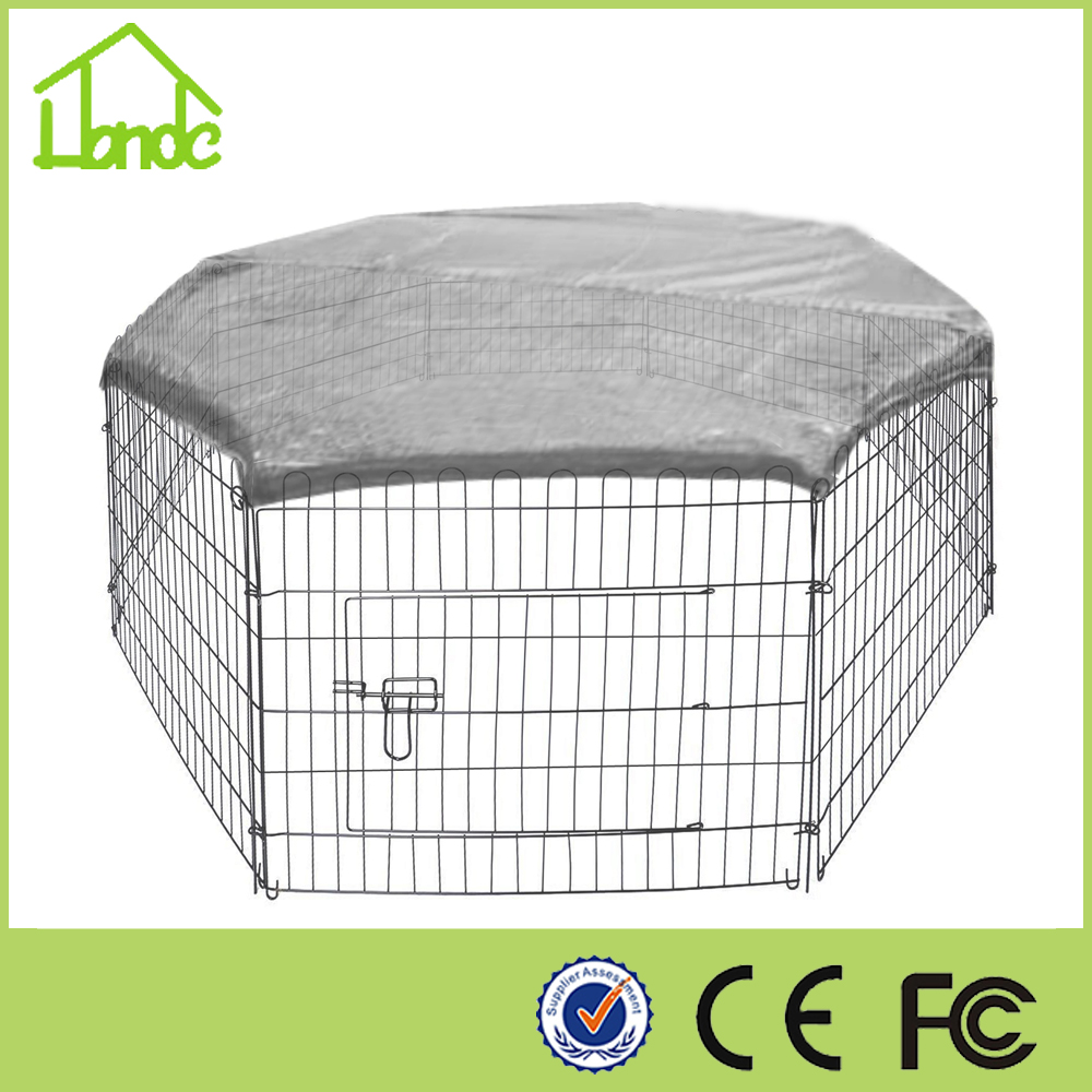 New style folding galvanized Portable cages for rabbits