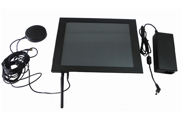 15'' LCD Industrial Touch Screen Panel Pc With Intel D2550 CPu