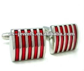 Stainless Steel Cufflinks Blanks