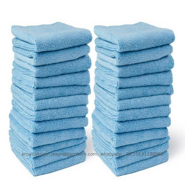 TradeAssurance 2018 Manufacture microfiber twist cloth table cleaning towel quick dry car Alibaba Supplier Cheap