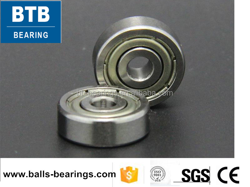 R series miniature deep groove ball bearing R4 1/4 inch ball bearing for bicycles and motors