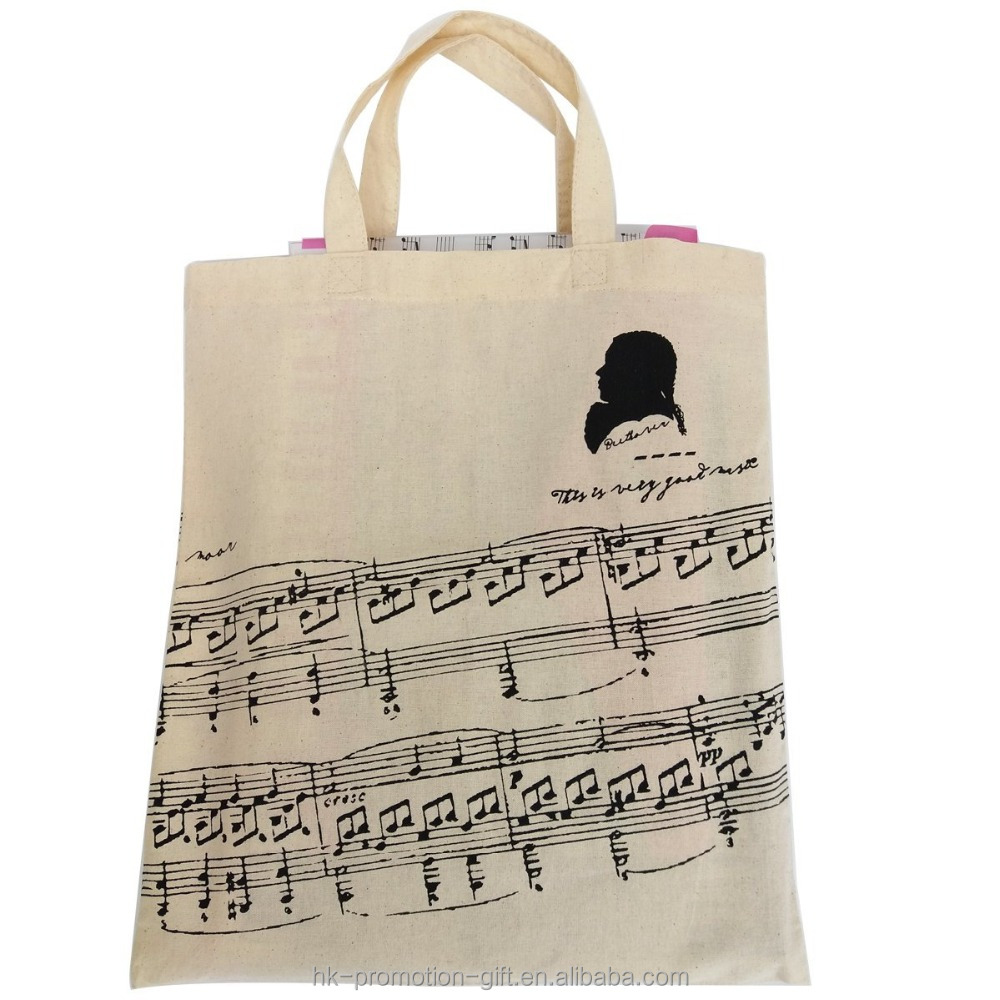 Promotional new design eco organic cotton market bags