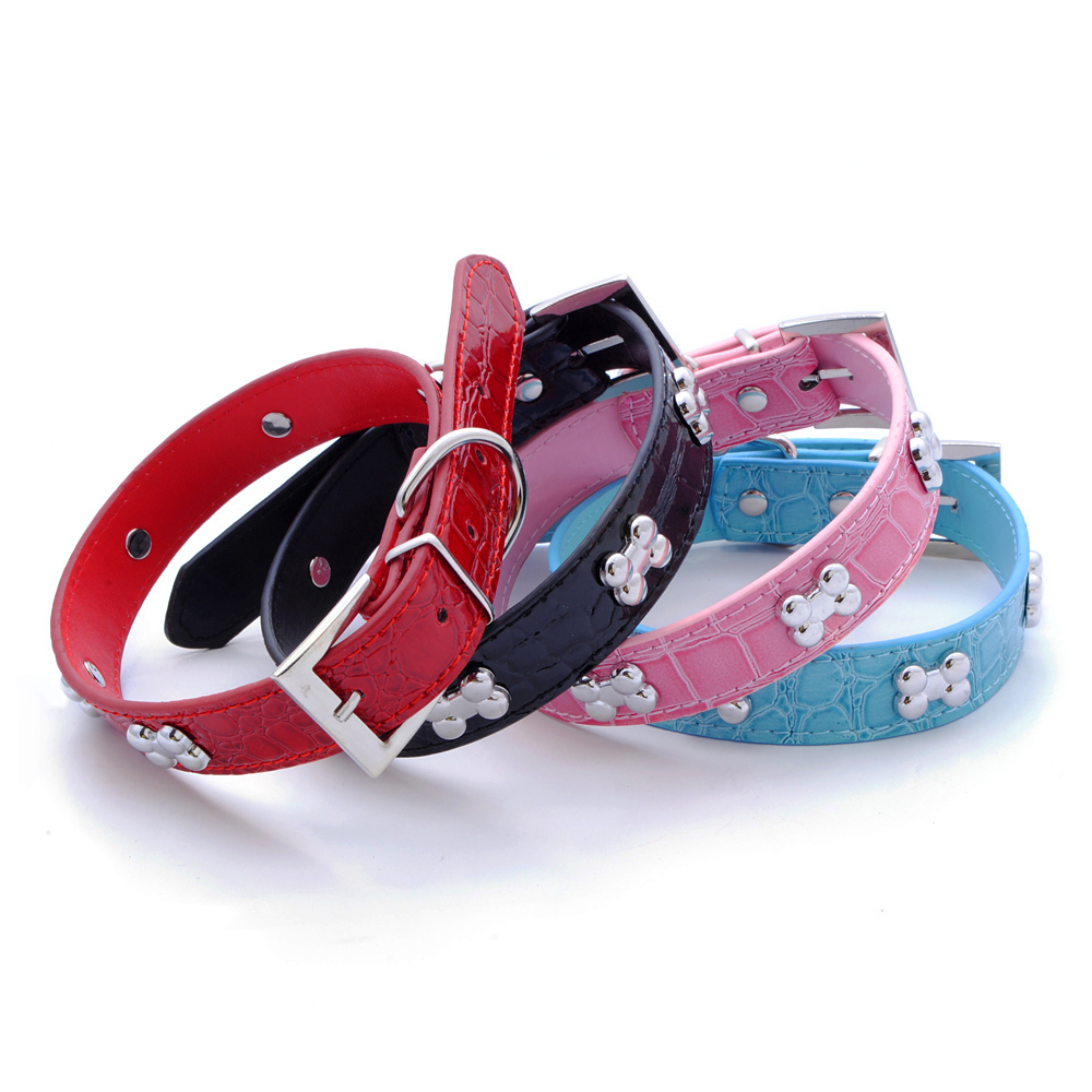Soft Studded Leather Dog Collars And Leashes Xxx Imagess