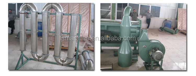 500kg/h waste plastic film Recycling Line