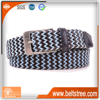 Top Quality Black Blue Girls Polyester Thin Fashion Belt