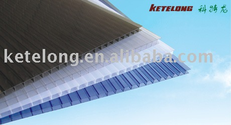 6mm Twin wall polycarbonate sheet