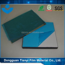 PE Anti Scratch Adhesive Film Blue Sexs