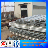 hot dip galvanized hollow section round steel pipe manufacturer ms round pipes weight
