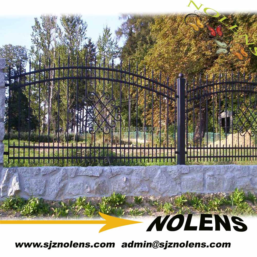 wrought iron fence for farm