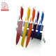 Non-Stick Coated Fashionable And Beautiful Designed 5Pcs Kitchen Knives